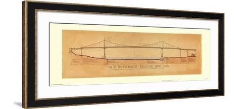 St. Johns Bridge-Craig Holmes-Framed Art Print