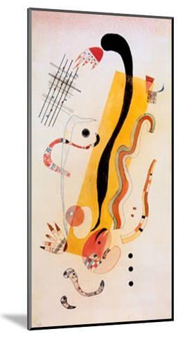 Crawling-Wassily Kandinsky-Mounted Art Print
