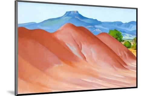 Red Hills with Pedernal, 1936-Georgia O'Keeffe-Mounted Art Print