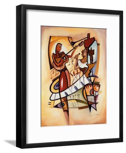 Uptown Saturday Night I-Alfred Gockel-Framed Art Print