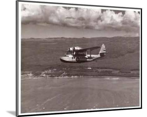 Inter-Island Airways, Sikorsky S-43, Kaunakakai, Molokai, Hawaii, 1936-Paul Sidney Grade-Mounted Art Print