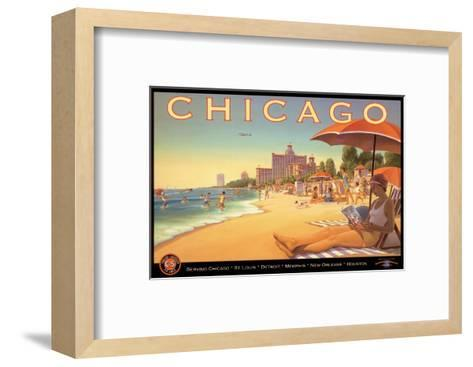 Chicago and Southern Air-Kerne Erickson-Framed Art Print