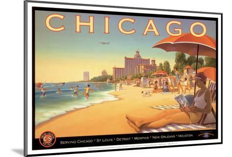 Chicago and Southern Air-Kerne Erickson-Mounted Art Print