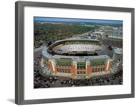 Green Bay Packers - New Lambeau Field-Mike Smith-Framed Art Print