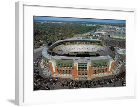 Green Bay Packers - New Lambeau Field-Mike Smith-Framed Art Print