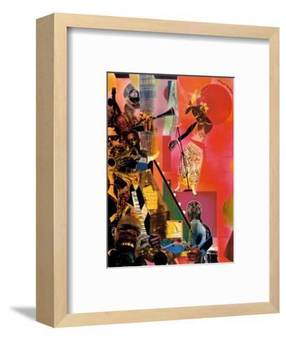 The Blues-Romare Bearden-Framed Art Print