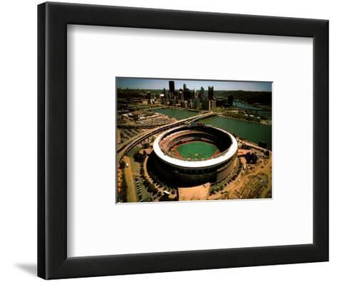 Pittsburgh - Three Rivers Stadium Final Season-Mike Smith-Framed Art Print