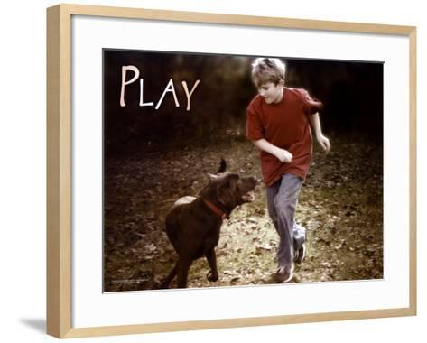 Play--Framed Art Print