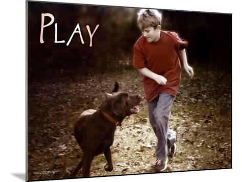 Play--Mounted Art Print