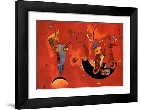 Mit und Gegen, c.1929-Wassily Kandinsky-Framed Art Print
