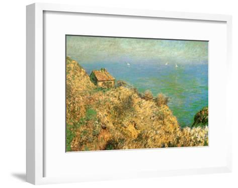 The Custom Officer's House at Varengeville-Claude Monet-Framed Art Print