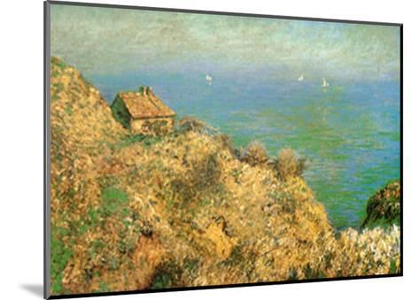 The Custom Officer's House at Varengeville-Claude Monet-Mounted Art Print