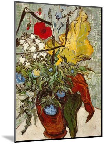 Vase of Poppies-Vincent van Gogh-Mounted Art Print