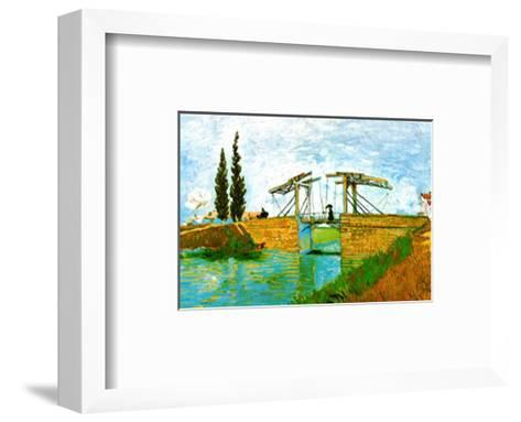 The Langlois Drawbridge-Vincent van Gogh-Framed Art Print