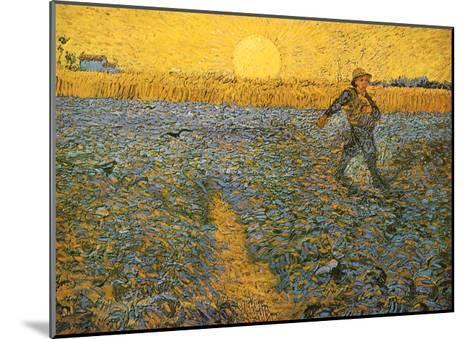 The Sower, c.1888-Vincent van Gogh-Mounted Art Print