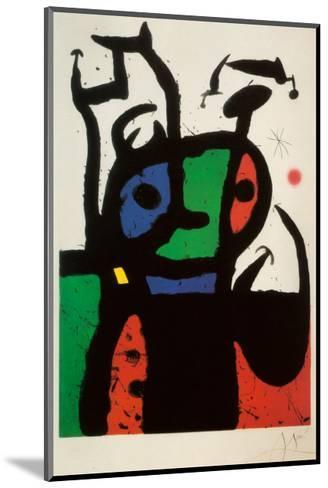 Matador-Joan Mir?-Mounted Art Print
