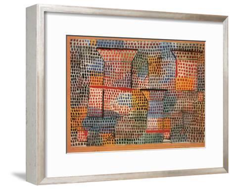 Kreuze und Saulen-Paul Klee-Framed Art Print