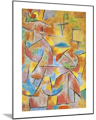 Bimba e Zia, c.1937-Paul Klee-Mounted Art Print