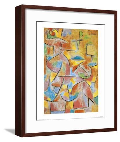 Bimba e Zia, c.1937-Paul Klee-Framed Art Print
