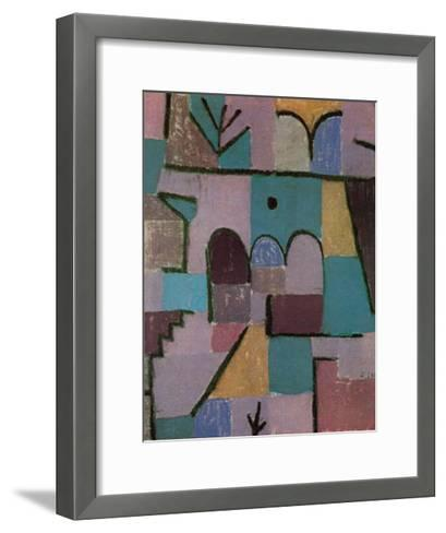 Garten im Orient, c.1937-Paul Klee-Framed Art Print