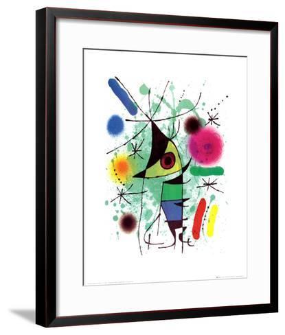 The Singing Fish-Joan Mir?-Framed Art Print