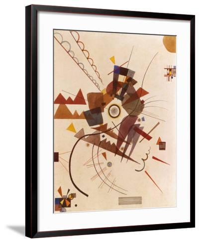 All Around-Wassily Kandinsky-Framed Art Print