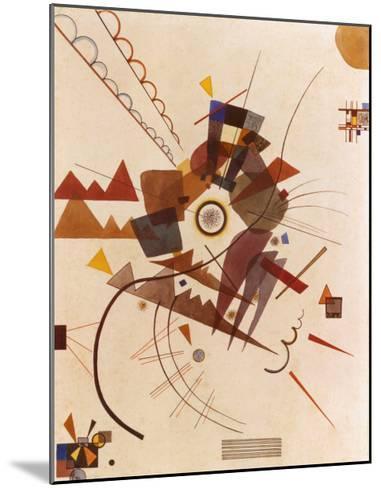 All Around-Wassily Kandinsky-Mounted Art Print