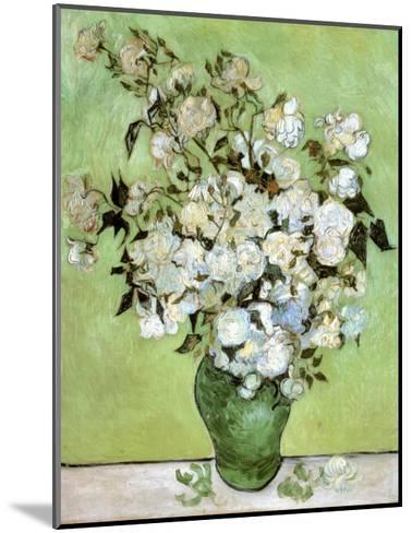 A Vase of Roses, c.1890-Vincent van Gogh-Mounted Art Print