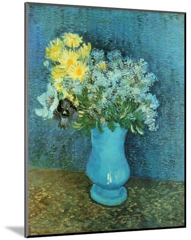 Vase of Lilacs, Daisies and Anemones, c.1887-Vincent van Gogh-Mounted Art Print