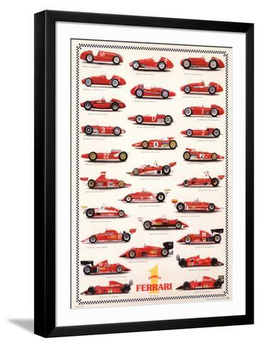 Ferrari Formula I - International Edition--Framed Art Print