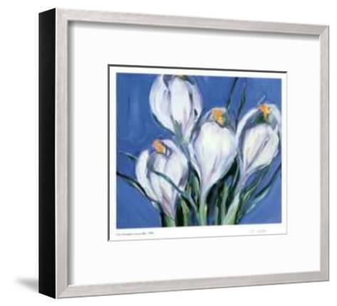 Crocus Blue-Lynn Donoghue-Framed Art Print
