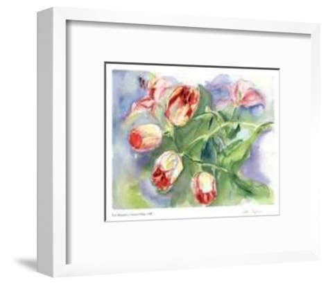 Gathered Tulips-Lynn Donoghue-Framed Art Print