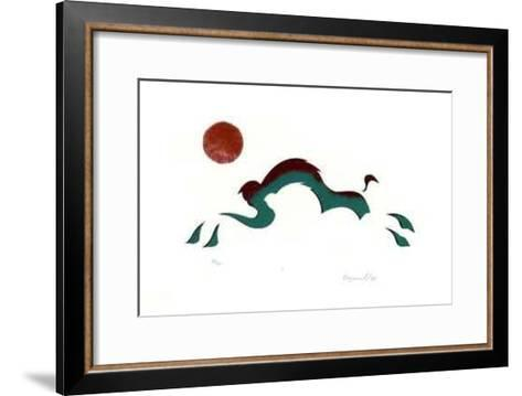 X- Noganosh-Framed Art Print