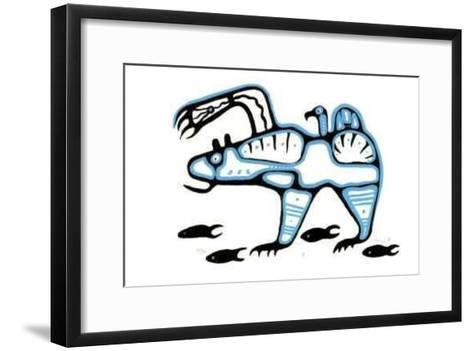VI-B. Marion-Framed Art Print