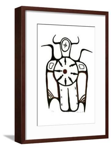 I-B. Marion-Framed Art Print