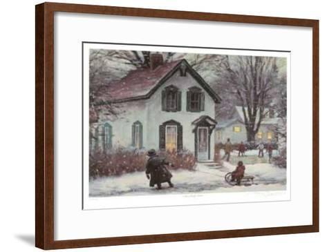 The Walk Home-Ray Bianco-Framed Art Print