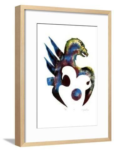 IX- Noganosh-Framed Art Print