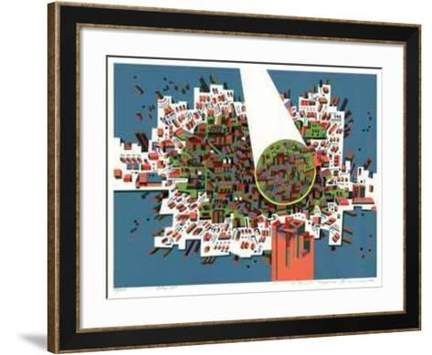 City 381- Kimura-Framed Art Print