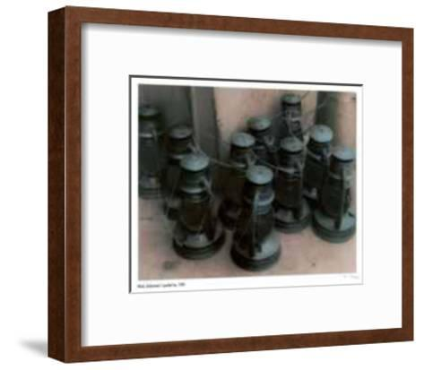 Lanterns-Rick Zolkower-Framed Art Print