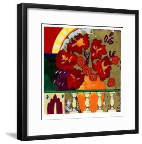 Firecracker Floral I-Elizabeth Jardine-Framed Art Print