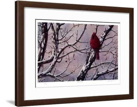 Winter Arrival-J. Vanderbrink-Framed Art Print
