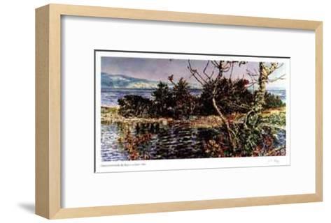 The Edge of an Island-Catherine Perehudoff-Framed Art Print