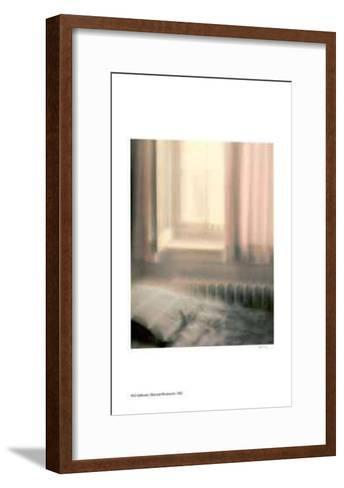 Bed and Window Sill-Rick Zolkower-Framed Art Print