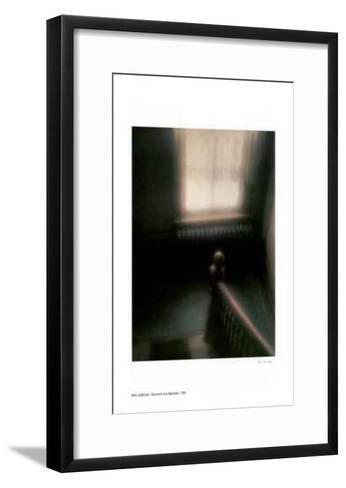 Stairwell and Banister-Rick Zolkower-Framed Art Print