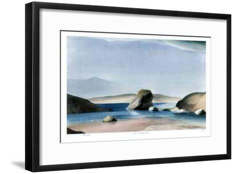 Rock - Murray's Inlet-Norman Anthony Onley-Framed Art Print