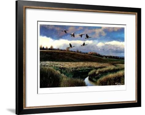 Autumn Calling-Cyril Cox-Framed Art Print