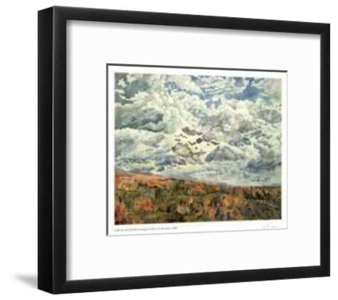 Swirling Clouds Over Albercorn-Catherine Perehudoff-Framed Art Print