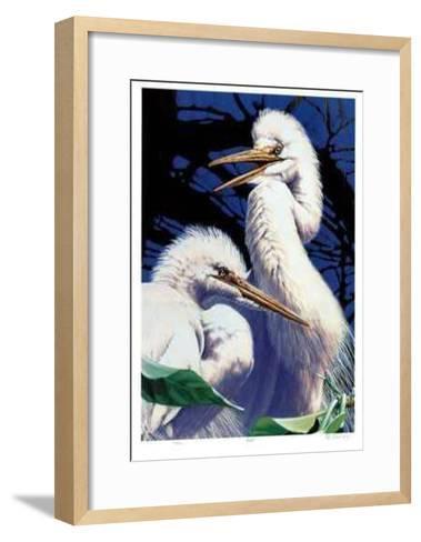 Duet-R. V. Stanley-Framed Art Print