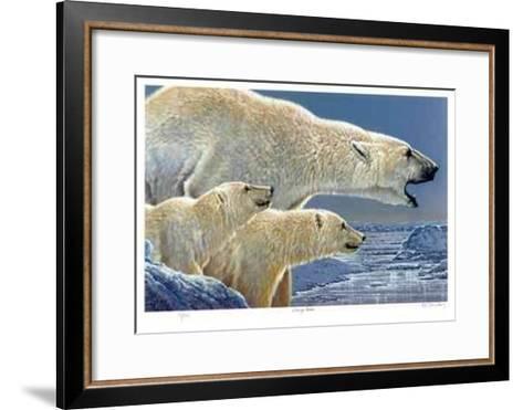 Facing North-R. V. Stanley-Framed Art Print