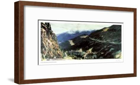 Clearcut Pathworks-Catherine Perehudoff-Framed Art Print